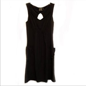 Athleta Black Side Pocket Mini Dress Size 4